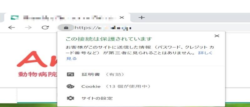 sslサイト見本